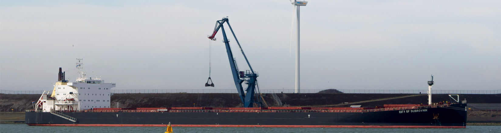 Erasmus crane IJmuiden
